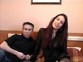 Lea Lazur : Jeune couple passe un casting très...hot.